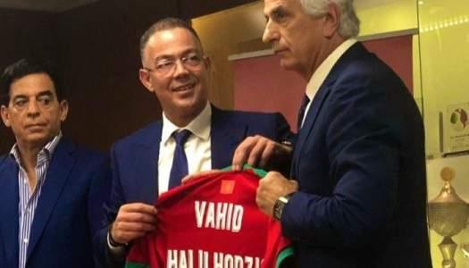 Maroc : objectif Mondial pour coach Vahid