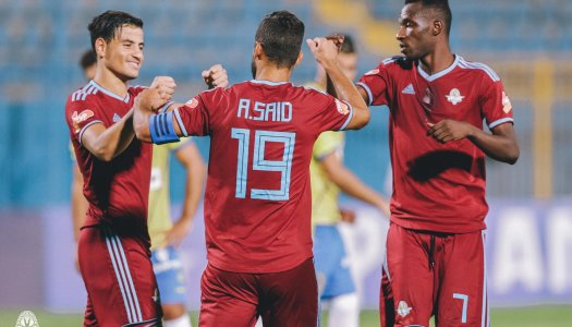 Egypte (PL):   Ahly, Pyramids in, Zamalek out