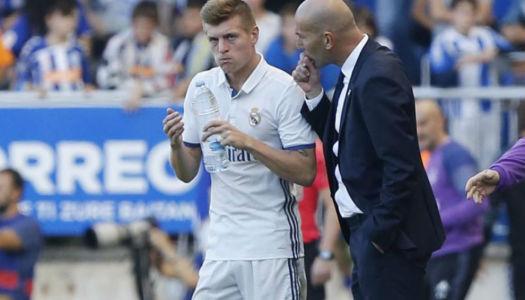Zidane estime  Toni Kroos «extraordinaire»