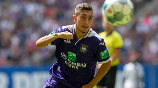 Anderlecht :  Anouar Aït El Hadj jusqu'en 2024