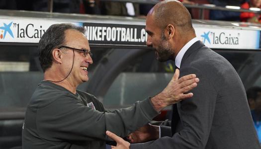 Pep Guardiola et son maître Bielsa
