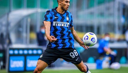 Inter Milan : Achraf Hakimi en boulet de canon