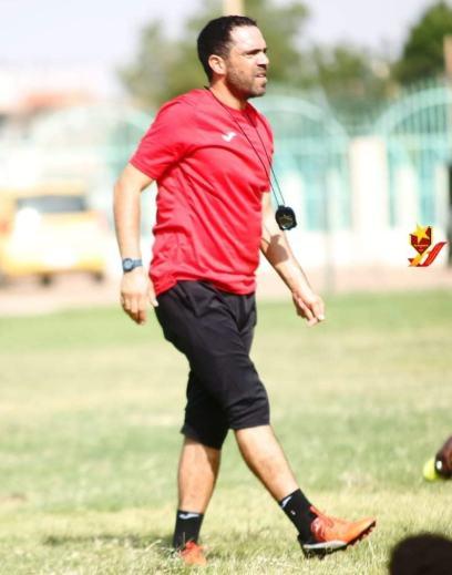 L'entraîneur, Jamel Khcharem.
