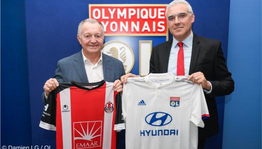 Lyon et le FUS Rabat prolongent  leur partenariat