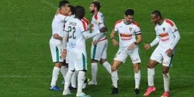 Vicoire facile des Mouloudiens d'Alger face aux Buffles du Bourgo (5-1), photo page Facebook MCA