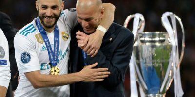 Karim Benzema et Zinedine  Zidane  respect et affection réciproques