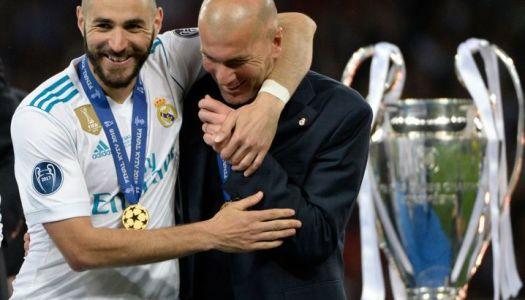 Real Madrid : Zidane «adore » Benzema