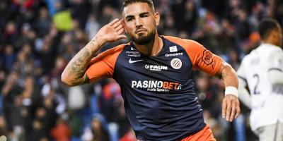 Andy Delort, le joueur en forme de Montpellier