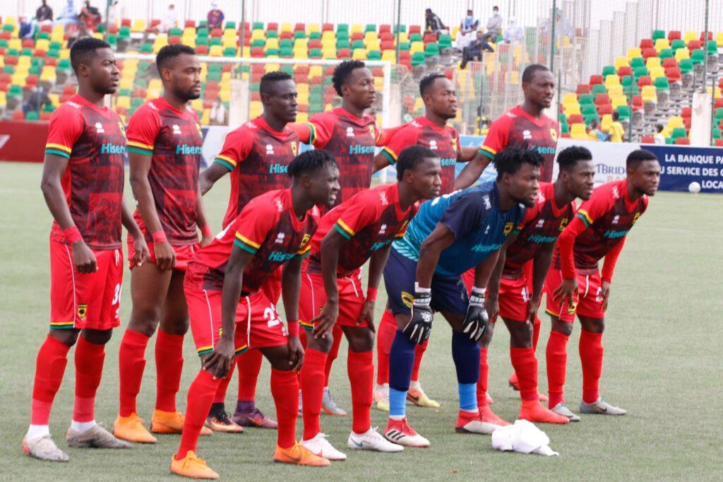 le FC Nouadhibou  floué  au Ghana ? ( photo , page Facebook du FCN)