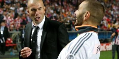 Zidane- Benzema