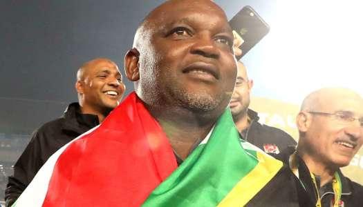 L'Afrique du Sud toujours fière de son Mosimane