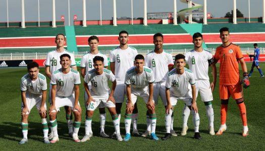 Algérie :  Belmadi a bien aimé les U-17