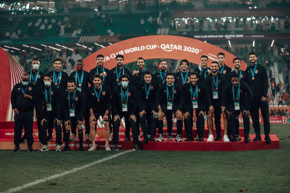 Al Ahly ; la troisième place au Mondial des clubs ( photo page Facebook Al Ahly)