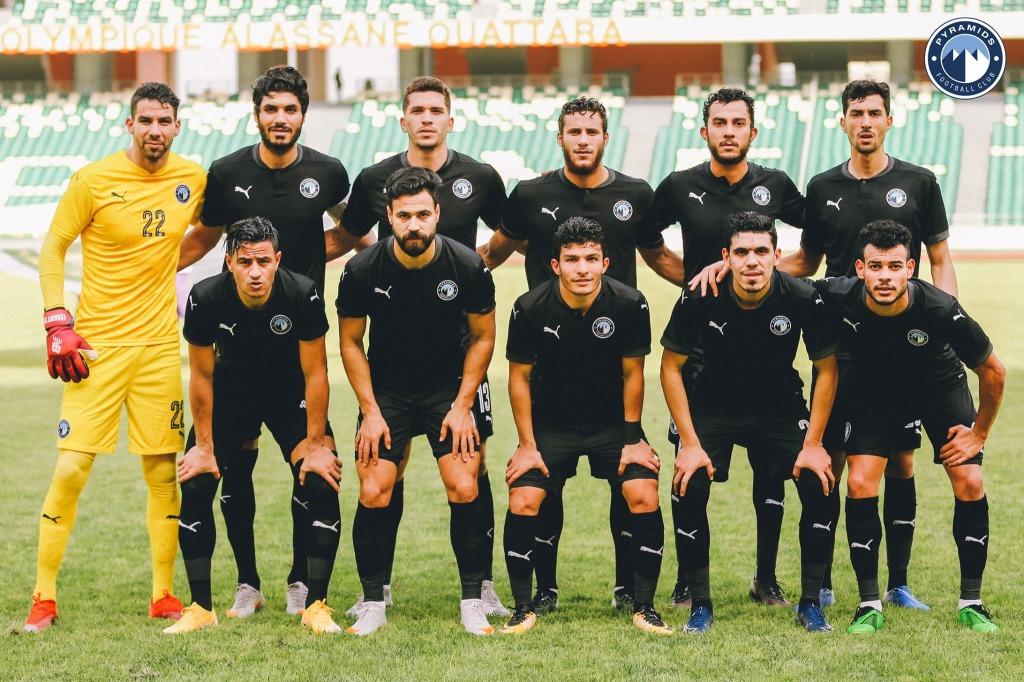 Pyramids FC (  Coupe de la Confédération, tour de cadrage ) Photo page Facebook Pyramids.fc.com