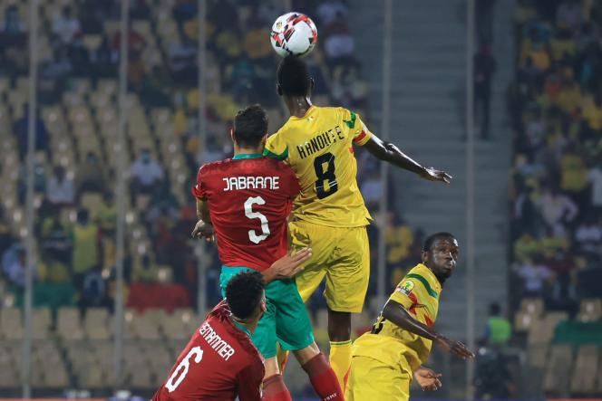 Le Mali a tenu une heure avant de craquer face aux Lions de l'Atlas
