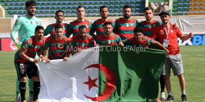MC Alger : une victoire décisive  dans  la course  au top 8 en LDC (photo page Facebook du MCA)