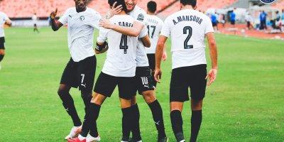 Pyramids FC : deux  victoire ne deux matches  en Coupe de la Confédération ( photo page Facebook Pyramids FC)