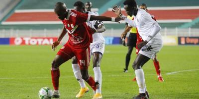 CR Belouizdad  ici  face à  Al Hilal Omdurman (1-1) à aller.   Les Algérois ont besoin d'un nul face au Mamelodi Sundowns pour passer en quart de finale