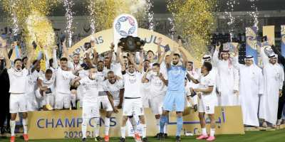 Al Sadd : un septième titre de champion acquis haut la  main ( photo page Facebook afc.com)
