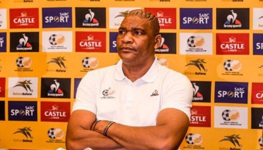 Bafana Bafana :  exit Molefi Ntseki