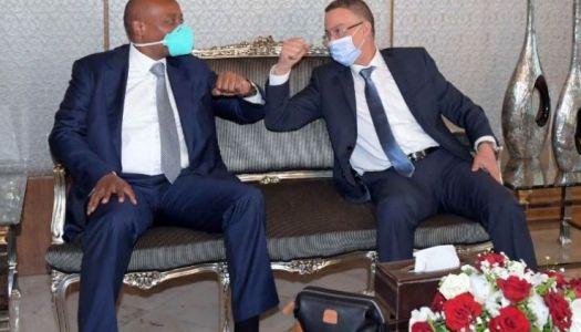 CAF:  Motsepe – Lekjaa, l'axe fort