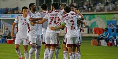 Al Sharjah  en huitièmes de finale de la LDC ( photo afc.com)