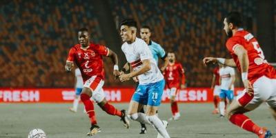 Ahly - Zamalek, 1-1 ( photo page facebook du Zamalek )