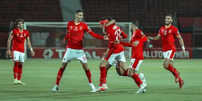Al Ahly : le deuième  but inscrit à la fin du temps réglementaire rassure les Red Devils avant le match retur à Pretoria ( photo page facebook du Ahly)