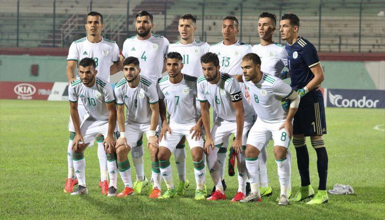 L'équipe d'Algérie A' éliminé du CHAN 2021 par le Maroc  (photo faf.dz)