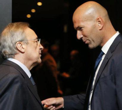 Zidane - Perez  : ils ont tout gagné ensembe mais ils ont fini par se séparer.
