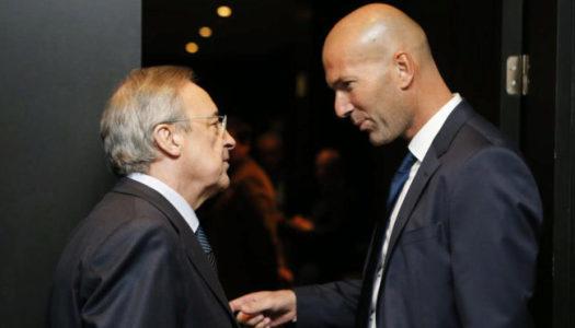 Real : Selon Perez, Zidane pense aux Bleus