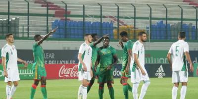 Mauriranie - Algérie , 1-4 ( phoro page facebook ffrim.com)