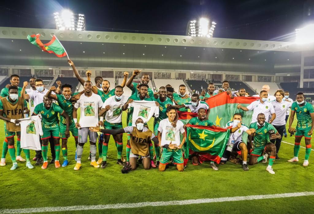 Coupe arabe FIFA: La Mauritanie bat la Somalie et rejoint la Tunisie dans le groupe B
