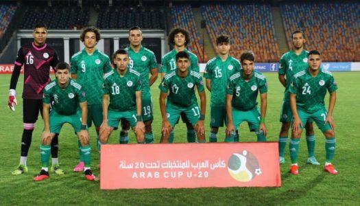 Coupe arabe U-20 : l' Algérie surprend le Maroc