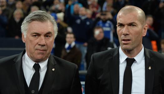 Ancelotti encense Benzema et Zidane