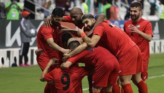 Coupe arabe FIFA:  la Palestine valide son ticket