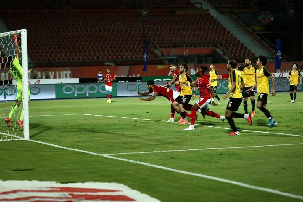 Ahly - Entag El-Harbi , 3-2 ( page facebook Al Ahly)