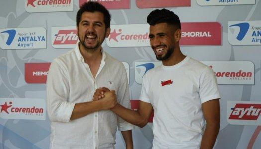Ghacha veut grandir avec Antalyaspor