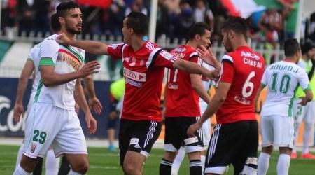 USM Algee - MC Alger, 2-2.  Les géants algérois presque largués dans la course au podium