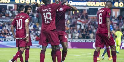 Gold Cup : le Qatar solide avait atteint la demi-finale. Photo Concacaf.com