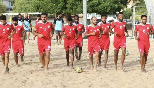 Beach Soccer: Oman prêt pour le Mondial 2021