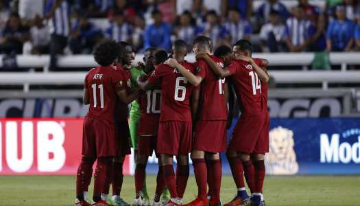 Gold Cup : le Qatar en demie !