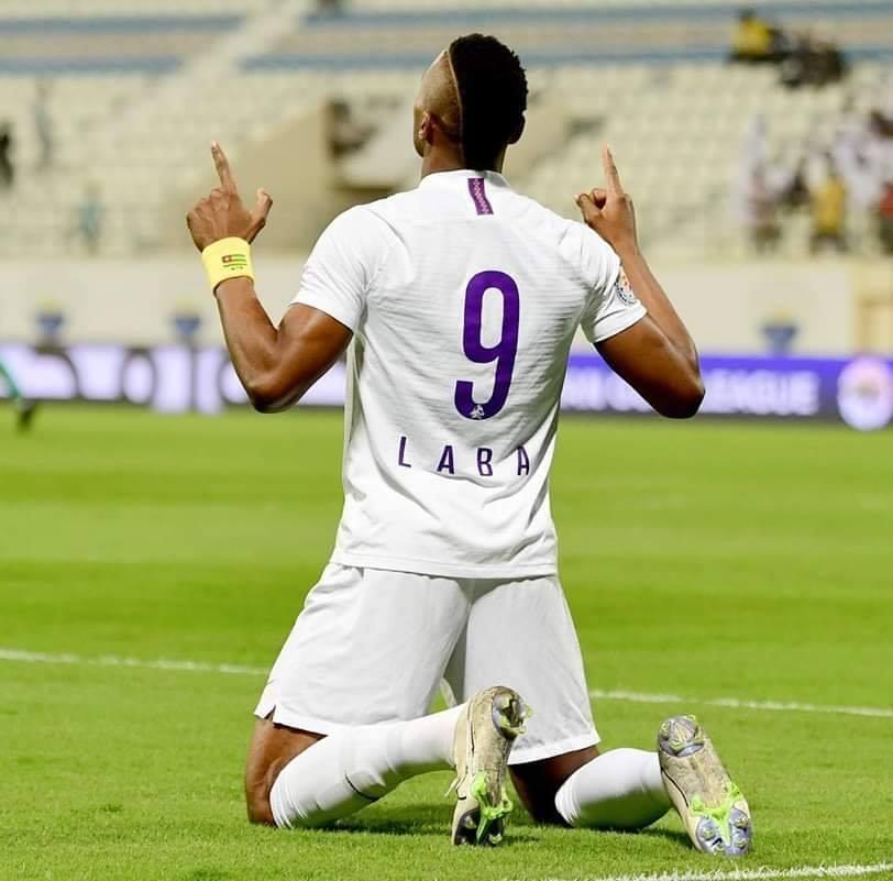 Kdjo Labah a inscrit 19 et 13 buts lors des deux premières saisons sous les couleurd d'Al-Aïn