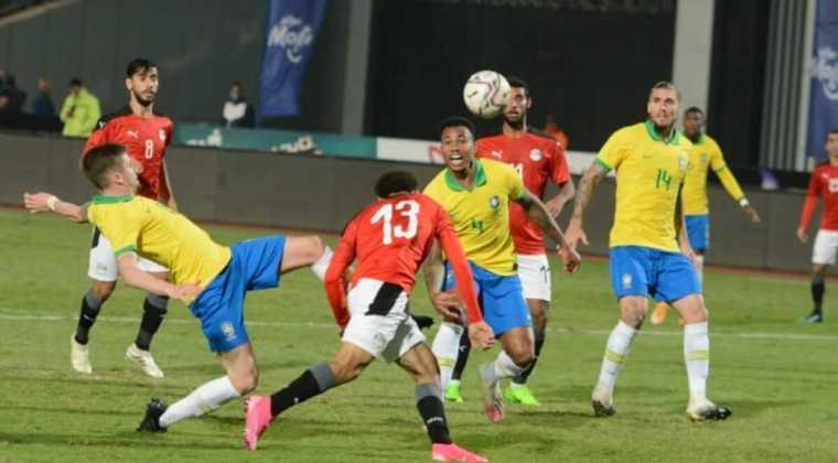Egypte - Brésil, 0-1