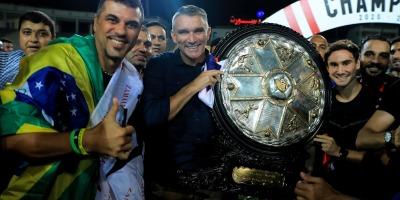 Patrice Carteron : un premier grand titre avec le Zamalek (photo page facebook Zamalek)
