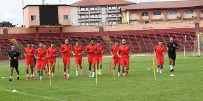 Maroc : Les Lions de l'Atlas se sont entraînés  à Conakry mais n'ont pas joué (photo frère.ma)